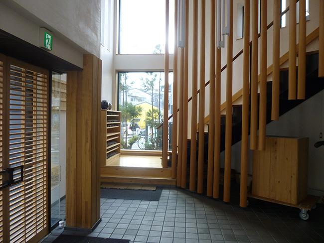 木材会館1階ギャラリー