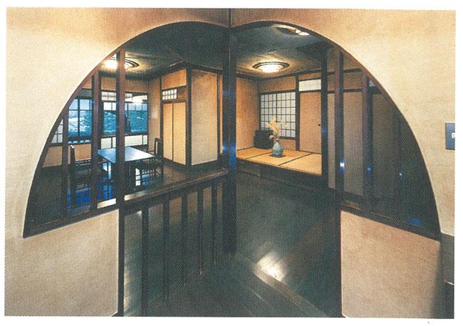 居室と緩やかに分節されたー食堂