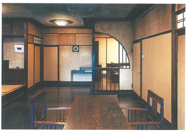 和と洋のデザインが見事に調和したー居室