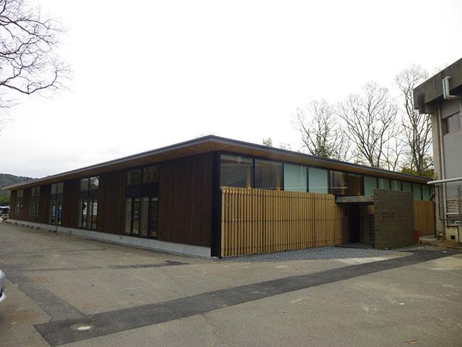 府内産木材による木造平屋(一部CLT使用)
