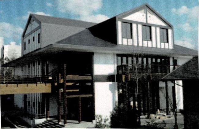 木質ホール