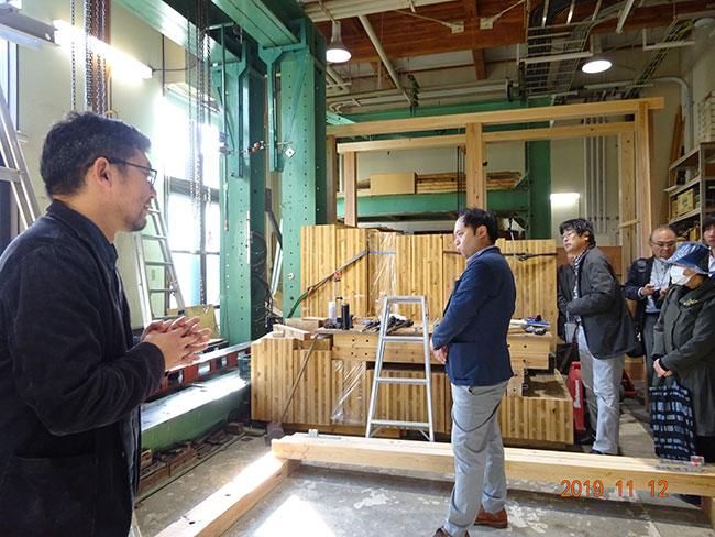 木材の実験・試験装置