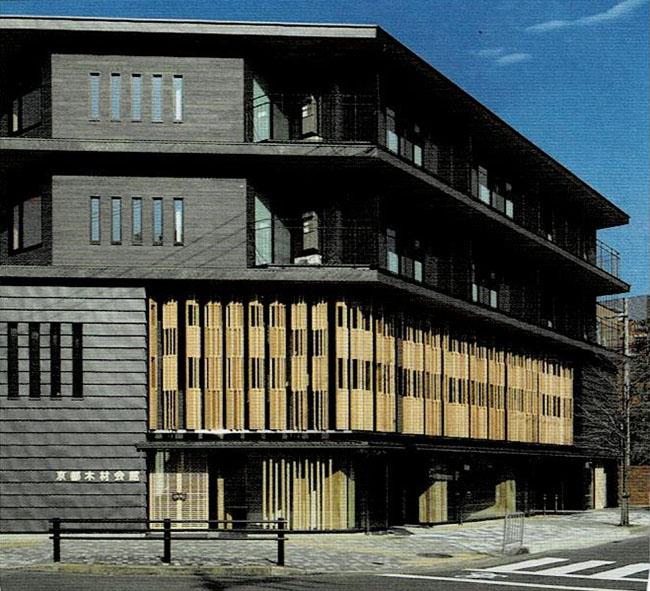 京都初木造4階建て