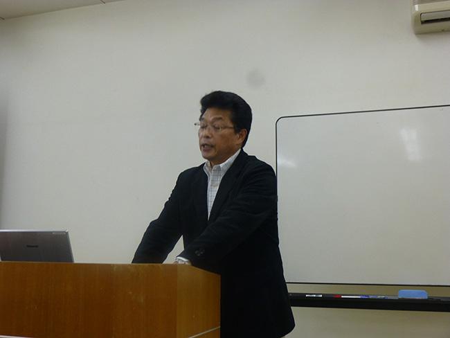 講演(三嶋氏):京都の林業振興のためにも材工分離を進めたい